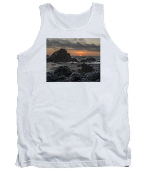 Indian Beach Sunset Tank Top