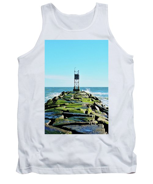 Indian River Inlet Tank Top by William Bartholomew