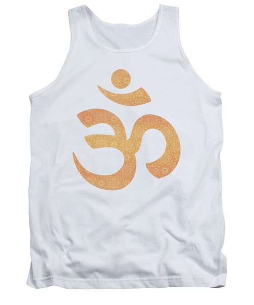 Indian Summer Mandala Copper Tank Top