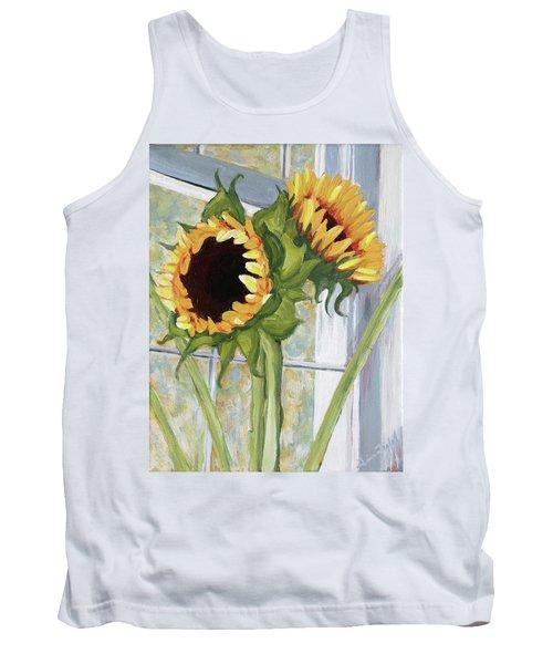 Indoor Sunflowers II Tank Top