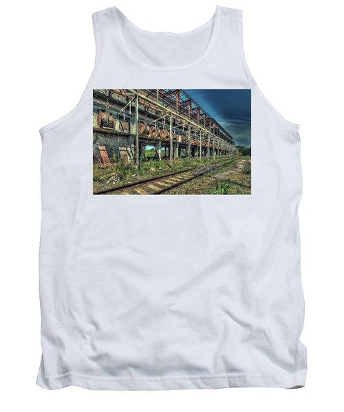 Industrial Archeology Railway Silos - Archeologia Industriale Silos Ferrovia Tank Top