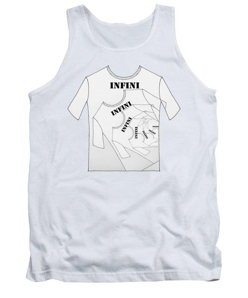 Infini Tee Tank Top by Lori Kingston
