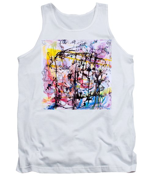 Information Network Tank Top