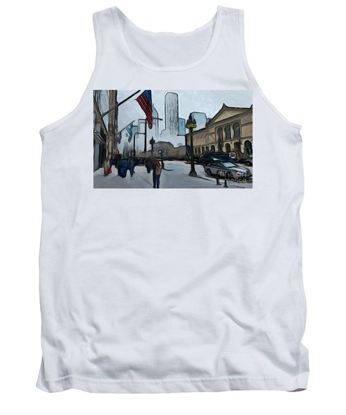 Infrastruction Meltdown Tank Top