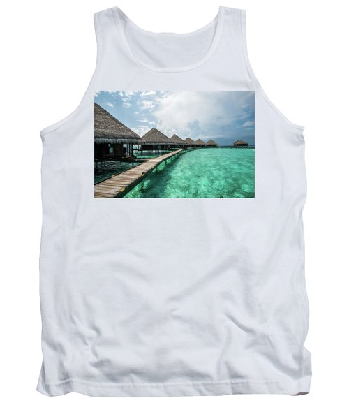 Tank Top featuring the photograph Inhale by Hannes Cmarits