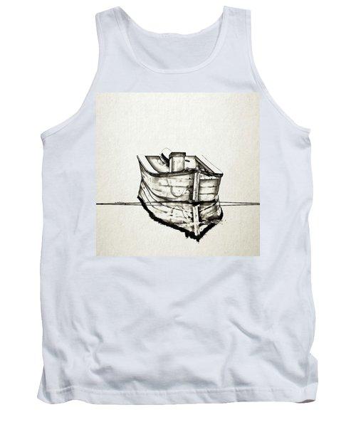 Ink Boat Tank Top