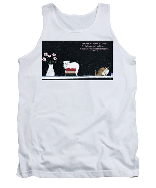Tank Top featuring the photograph Inspiration by Rhonda McDougall
