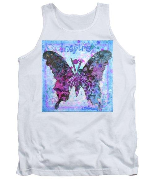 Inspire Butterfly Tank Top