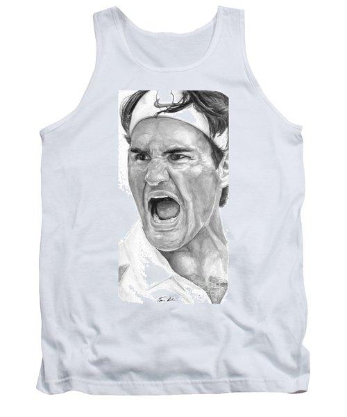 Intensity Federer Tank Top by Tamir Barkan
