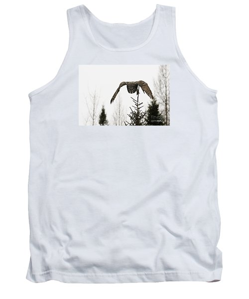 Tank Top featuring the photograph Intent On His Prey by Larry Ricker