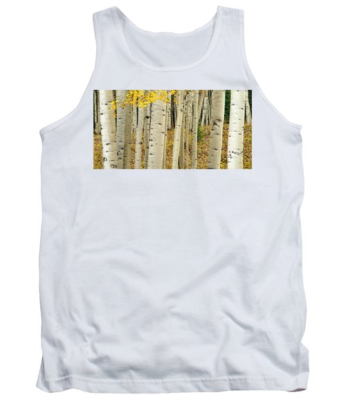 Tank Top featuring the photograph Into The Forest by Gary Lengyel