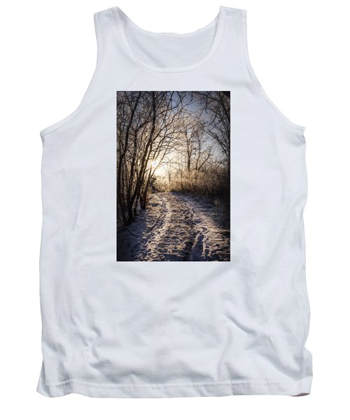 Tank Top featuring the photograph Into The Light by Annette Berglund