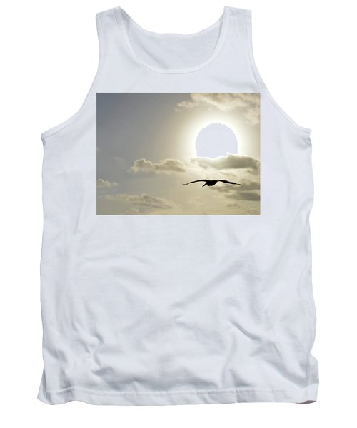 Tank Top featuring the photograph Into The Sun by Sebastien Coursol