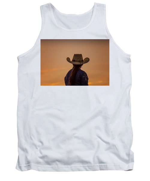 Into The Sunset Tank Top