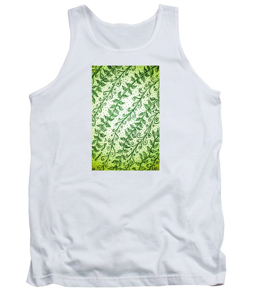 Into The Thick Of It, Green Tank Top