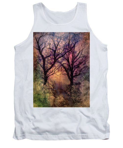 Into The Woods Tank Top by Annette Berglund