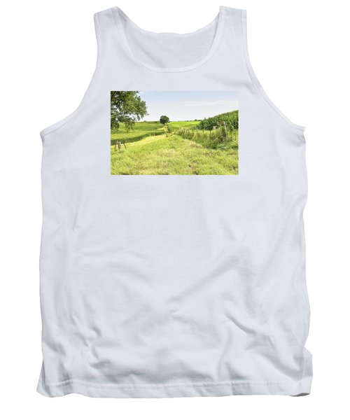 Iowa Corn Field Tank Top