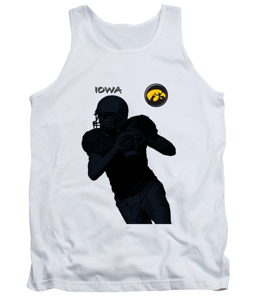 Iowa Football  Tank Top by David Dehner