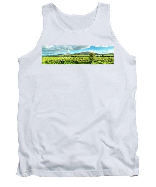 Ireland  - Burren Panorama Tank Top by Juergen Klust