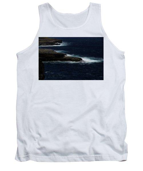 Ireland Inishmore Aran Island Coastal Landscape Tank Top
