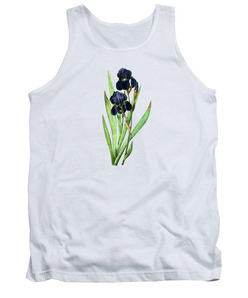 Iris Germanica Tank Top
