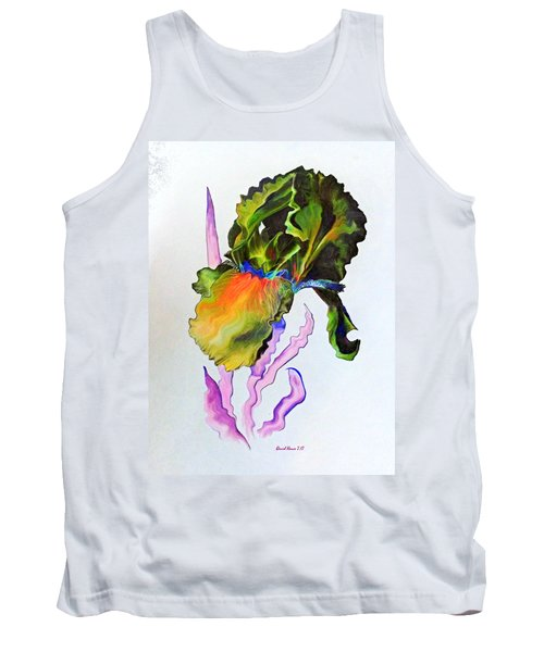 Iris Of A Different Color Tank Top