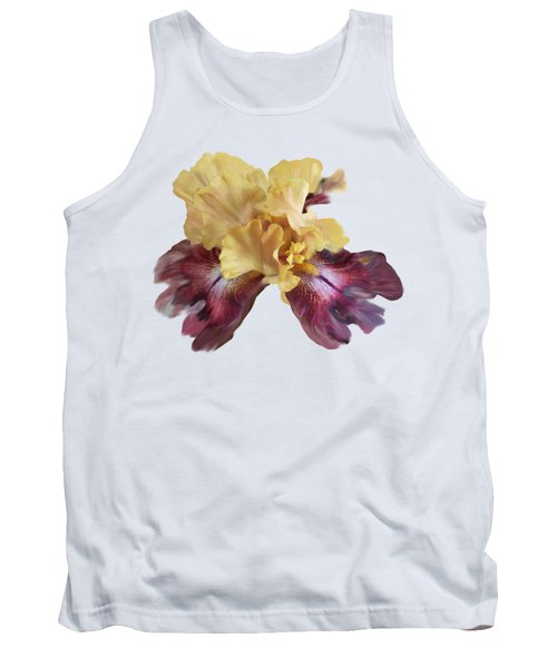 Iris T Shirt Tank Top by Nancy Pauling