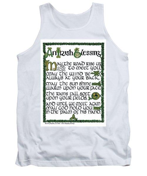 Irish Blessing Tank Top
