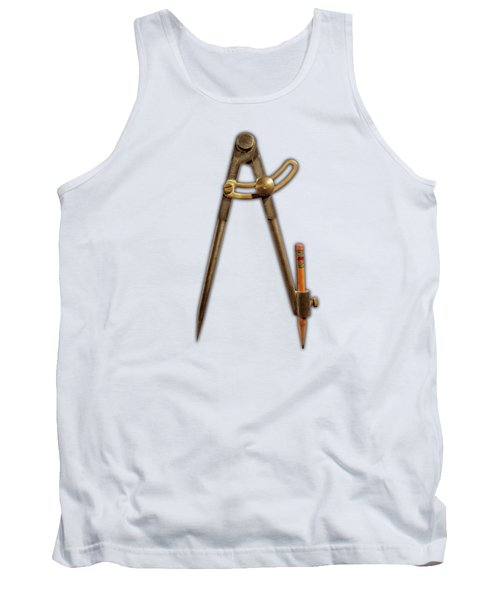 Tank Top featuring the photograph Iron Compass Pattern by YoPedro