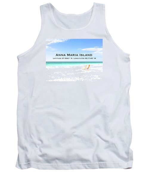 Island Breezes Tank Top by Margie Amberge