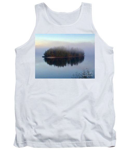 Island In The Autumn Mist Tank Top