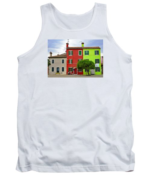 Island Of Burano Tranquility Tank Top
