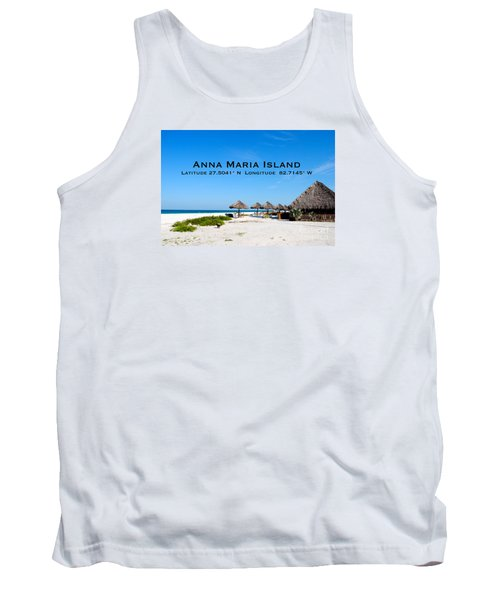 Island Time Tank Top by Margie Amberge