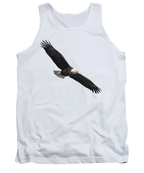 Isolated American Bald Eagle 2016-2 Tank Top