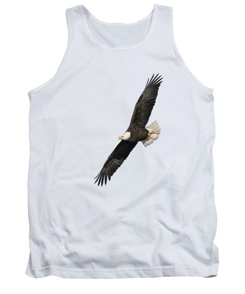 Isolated American Bald Eagle 2016-3 Tank Top by Thomas Young