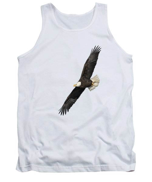 Isolated American Bald Eagle 2016-3 Tank Top