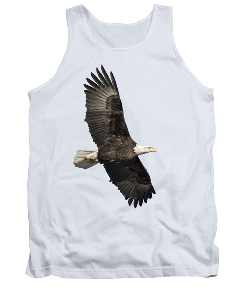 Isolated American Bald Eagle 2016-4 Tank Top