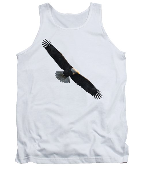 Isolated American Bald Eagle 2016-5 Tank Top