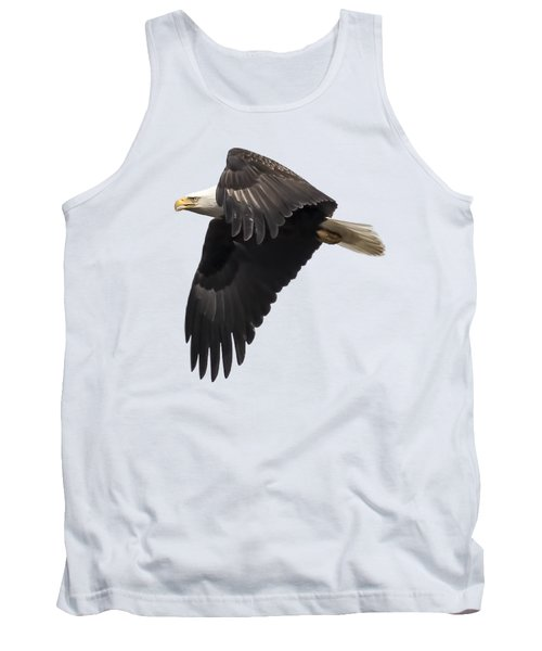Isolated American Bald Eagle 2016-6 Tank Top