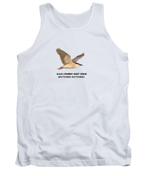 Isolated Black-crowned Night Heron 2017-6 Tank Top