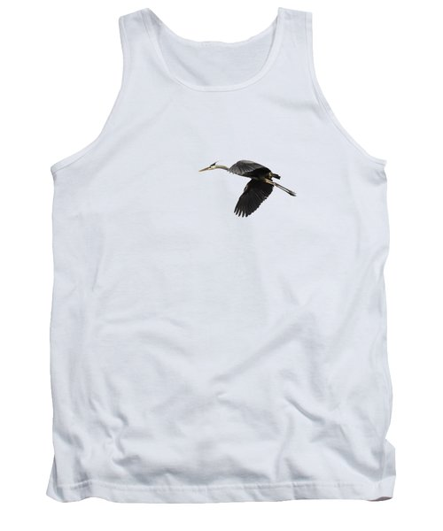 Isolated Great Blue Heron 2015-1 Tank Top