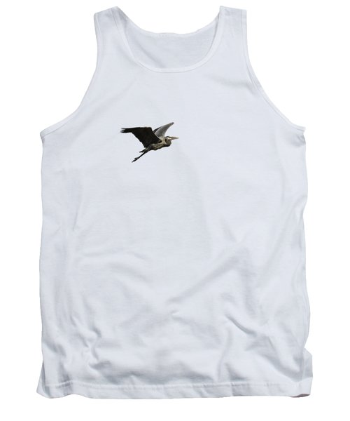Isolated Great Blue Heron 2015-3 Tank Top