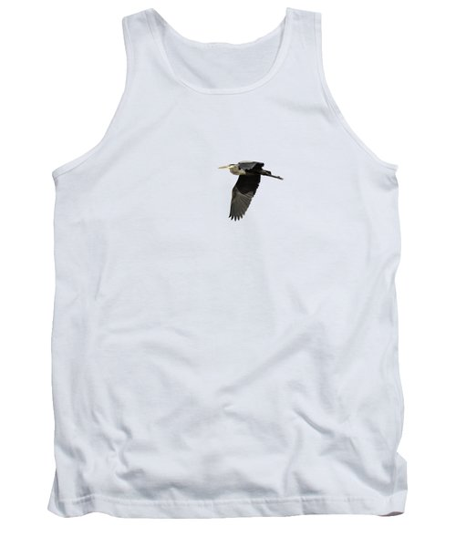 Isolated Great Blue Heron 2015-4 Tank Top
