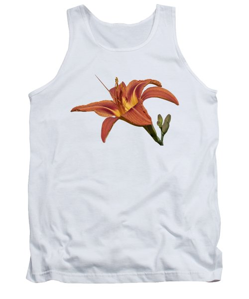 Isolated Lily 2018 Tank Top