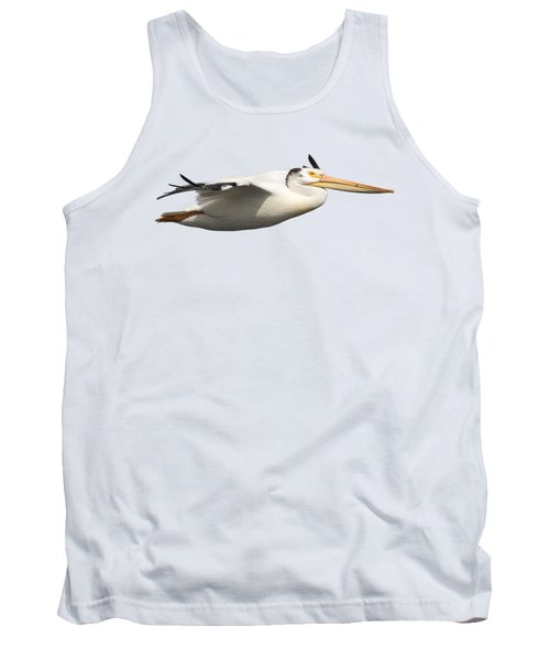 Isolated Pelican 2016-1 Tank Top