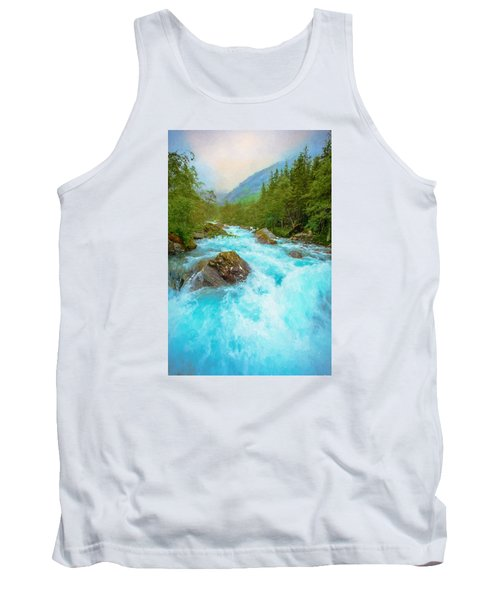 Tank Top featuring the photograph Istra River by Rose-Maries Pictures
