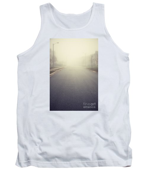 It Is Unclear What Lies Ahead Tank Top