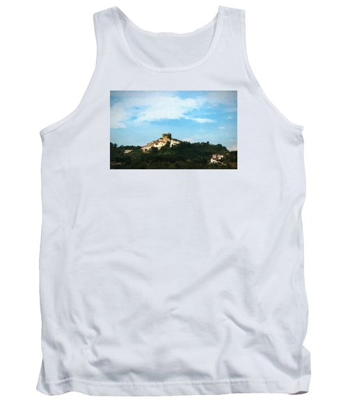 Tank Top featuring the photograph Italian Countryside by Kathleen Scanlan