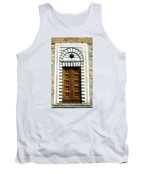 Italy, Door, Florence, Firenze Tank Top