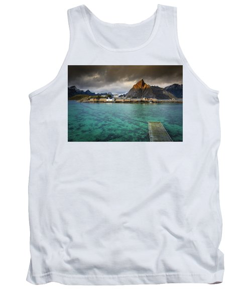 It's Not The Caribbean Tank Top by Alex Conu